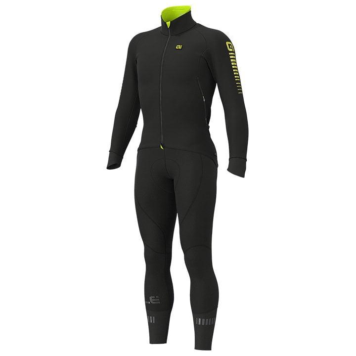 Set (chaqueta de invierno + culotte largo de ciclismo) ALÉ Race Nordik Set (2pie