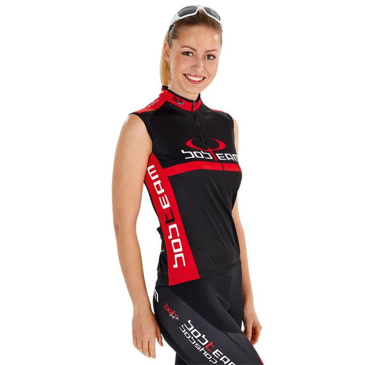 Rennradshirt, BOBTEAM Infinity Damentrikot ärmellos, Größe XS, Radsportkleidung