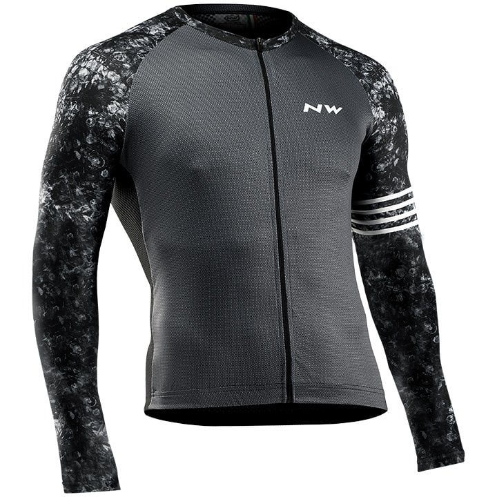NORTHWAVE Blade Maillot mangas largas, para hombre, Talla L, Maillot ciclista, R