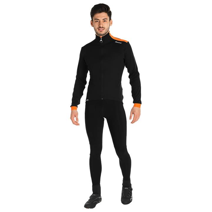 Set (chaqueta de invierno + culotte largo de ciclismo) SANTINI Vega Multiweather