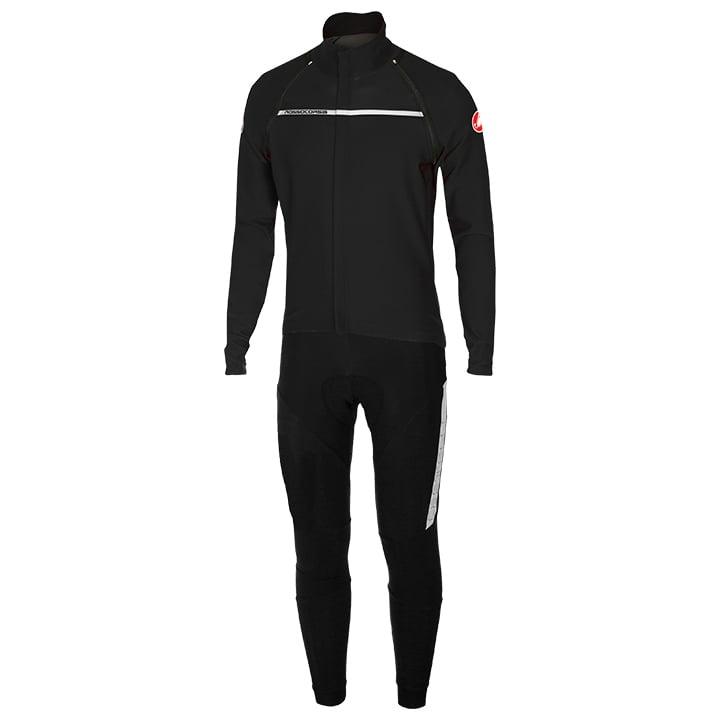 Set (chaqueta de invierno + culotte largo de ciclismo) CASTELLI Perfetto Convert