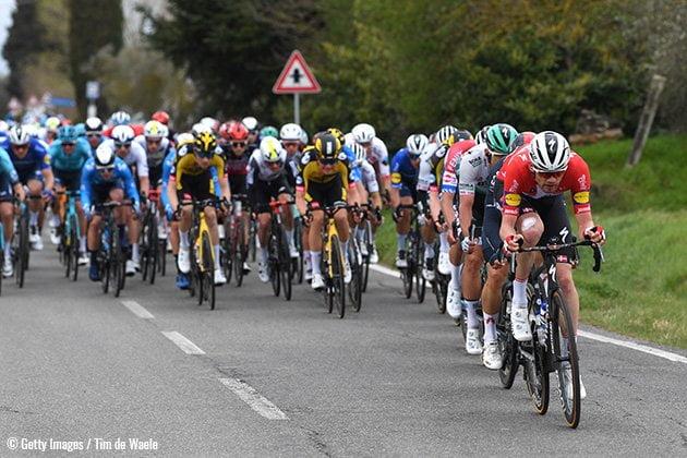 Endspurt Tour de France 2021 Peleton