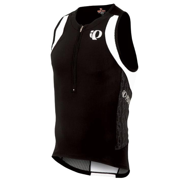 PEARL IZUMI Elite In-R-Cool schwarz Tri Top, für Herren, Größe S, Triathlon Top,