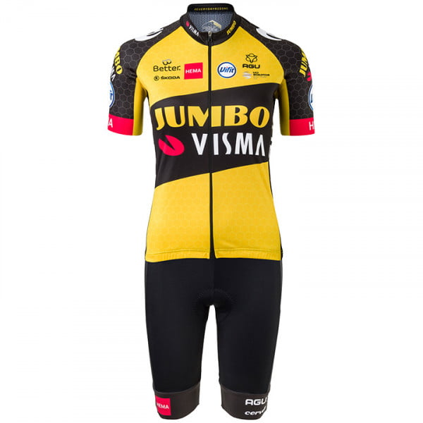 2020 Mens Yellow Cycling Jersey Red Point Cycling Jersey For 2020 tour de France