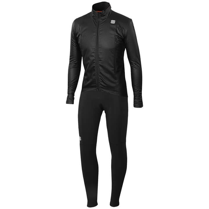 Set (chaqueta de invierno + culotte largo de ciclismo) SPORTFUL R&D Intensity Se