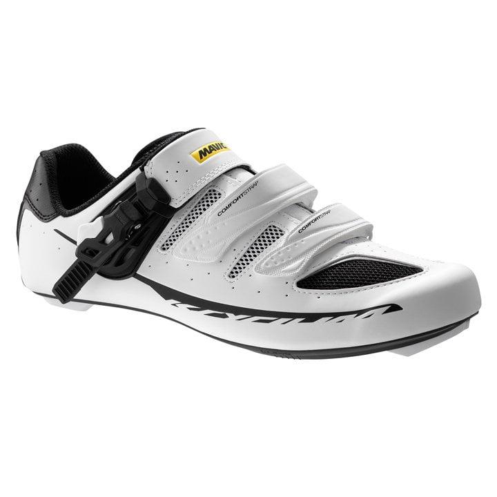 MAVIC Ksyrium Elite 2017 blancas-negras Zapatillas carretera