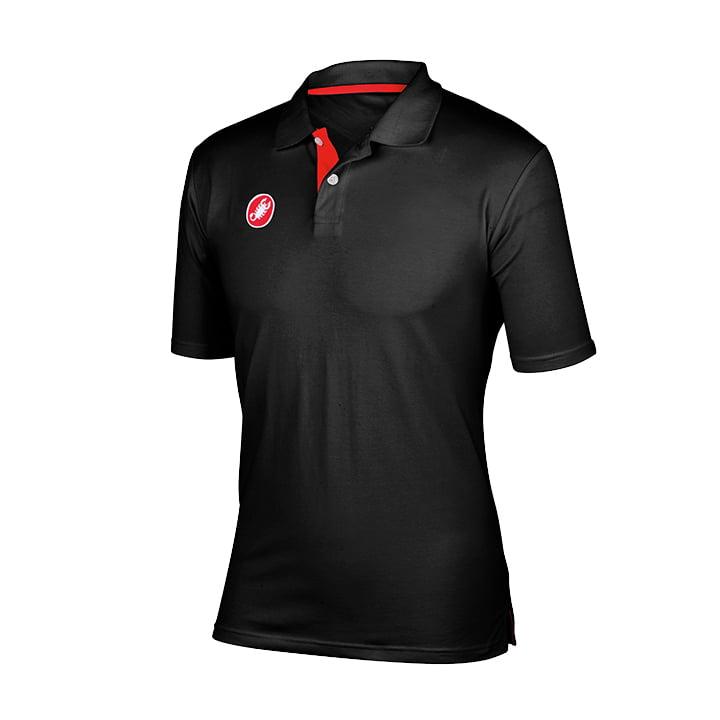 CASTELLI Race-Day Polo-Shirt, für Herren, Größe L, Bike Trikot, MTB Bekleidung