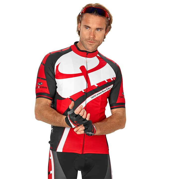 Fahrradtrikot, BOBTEAM Race Edition Kurzarmtrikot, für Herren, Größe S, Radbekle