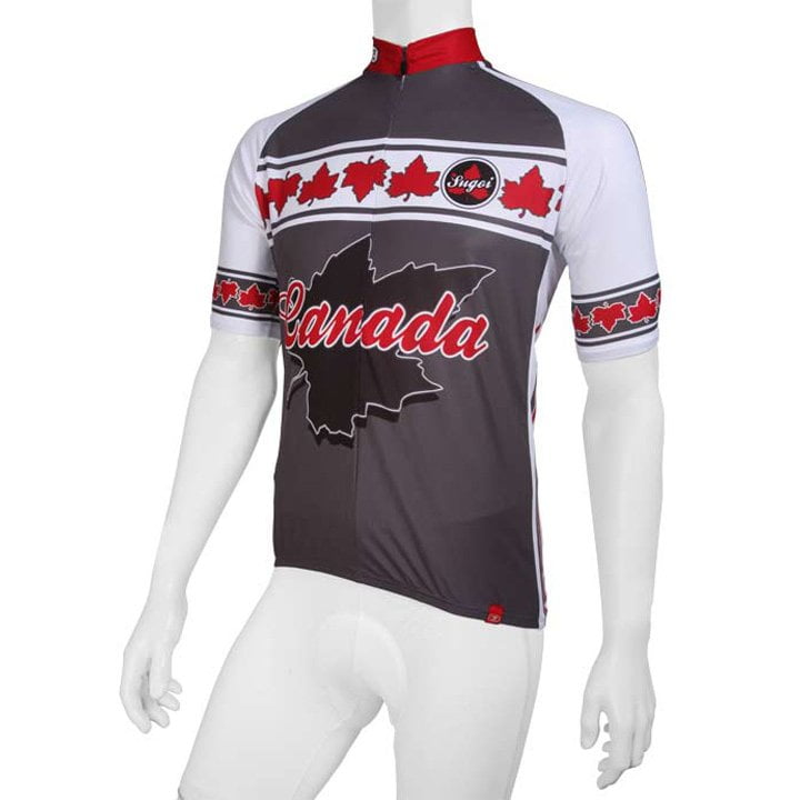 SUGOI Canada Kurzarmtrikot, für Herren, Größe S, Fahrradtrikot, Radbekleidung