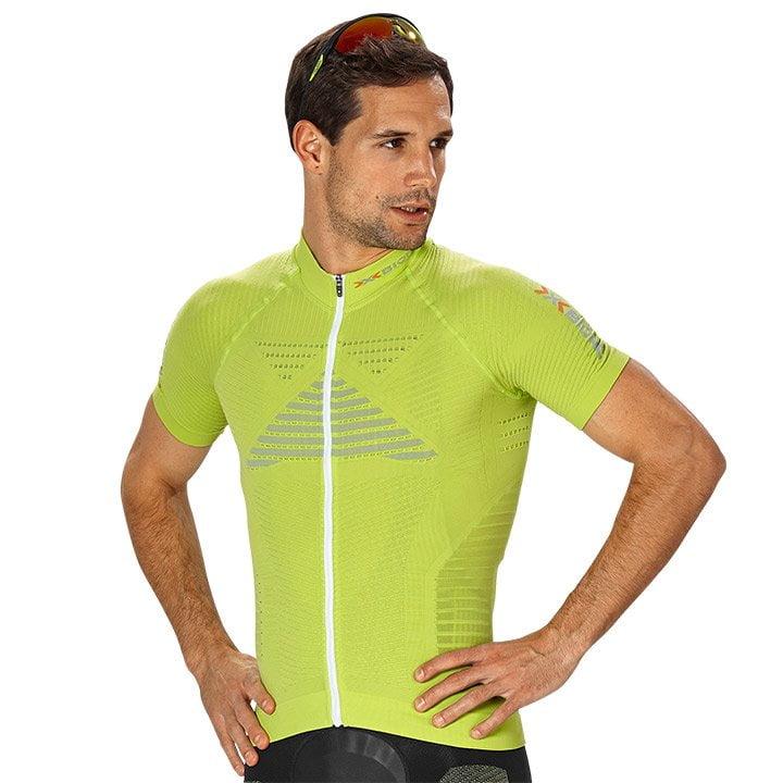 X-BIONIC Effektor Power Kurzarmtrikot, für Herren, Größe M, Radtrikot, Fahrradbe