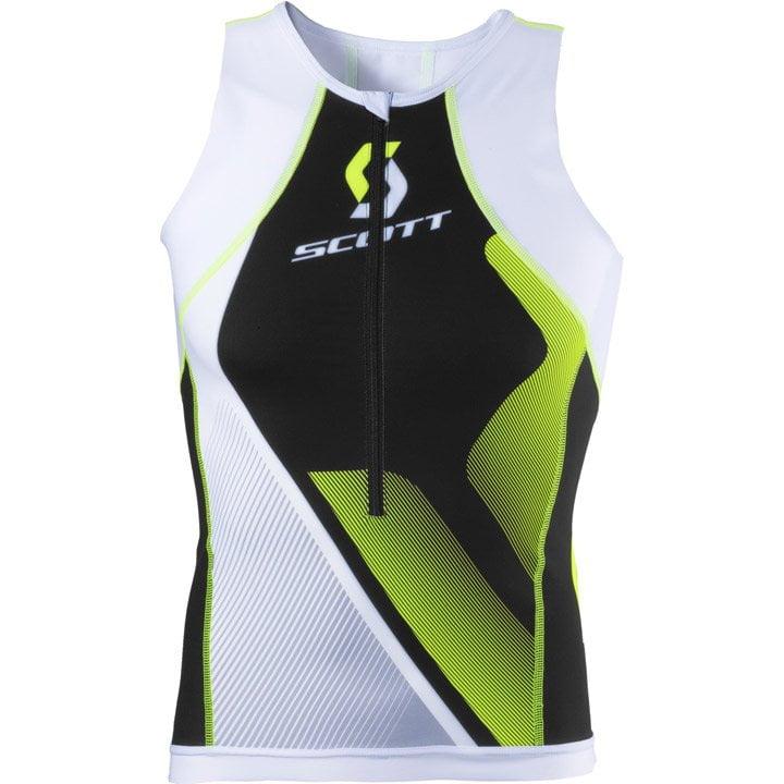 SCOTT Plasma Tri Top, für Herren, Größe S, Triathlon Top, Triathlon Bekleidung