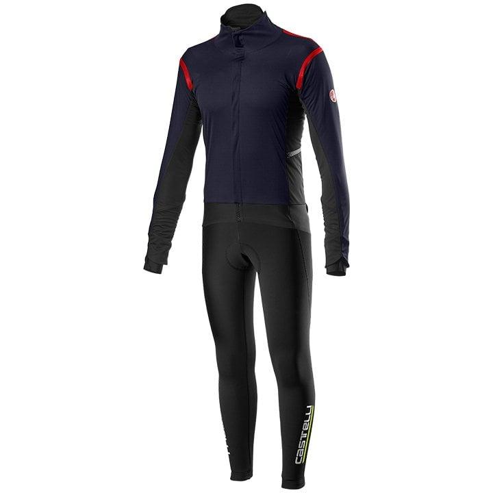 Set (chaqueta de invierno + culotte largo de ciclismo) CASTELLI Alpha RoS 2 Set