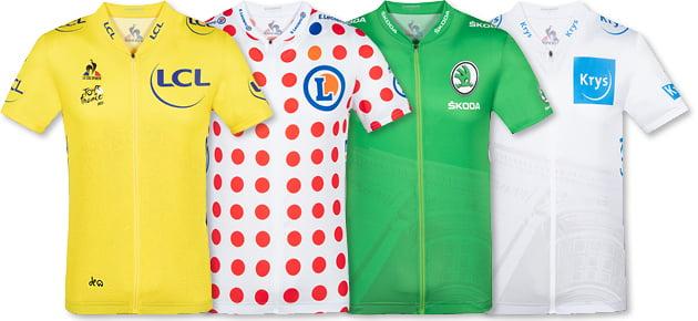 Wertungstrikots Tour de France 2021