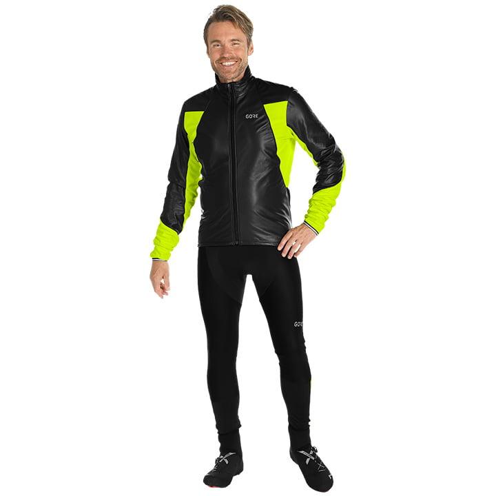 Set (chaqueta de invierno + culotte largo de ciclismo) GORE WEAR C5 GTX Infinium