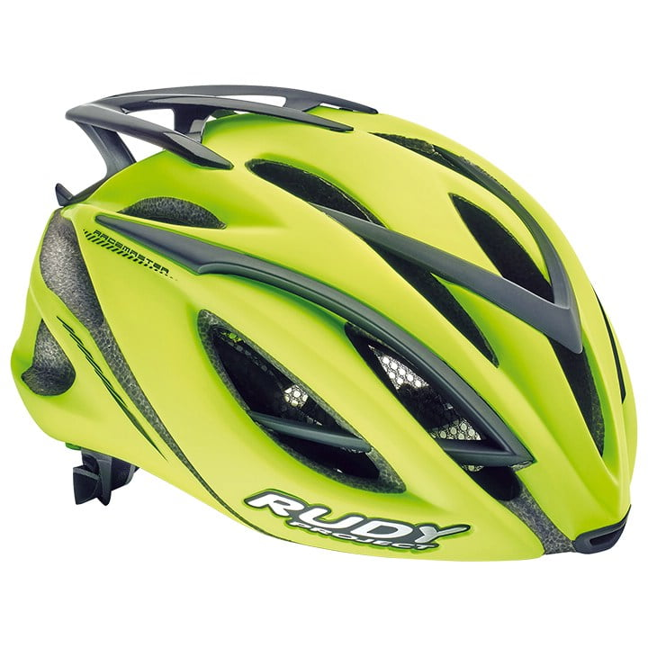 RUDY PROJECT Racemaster yellow fluo matte Casco, Unisex (mujer / hombre), Talla