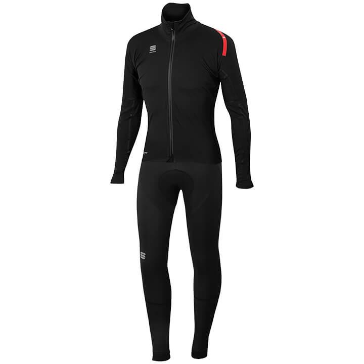 Set (chaqueta de invierno + culotte largo de ciclismo) SPORTFUL Fiandre Extreme