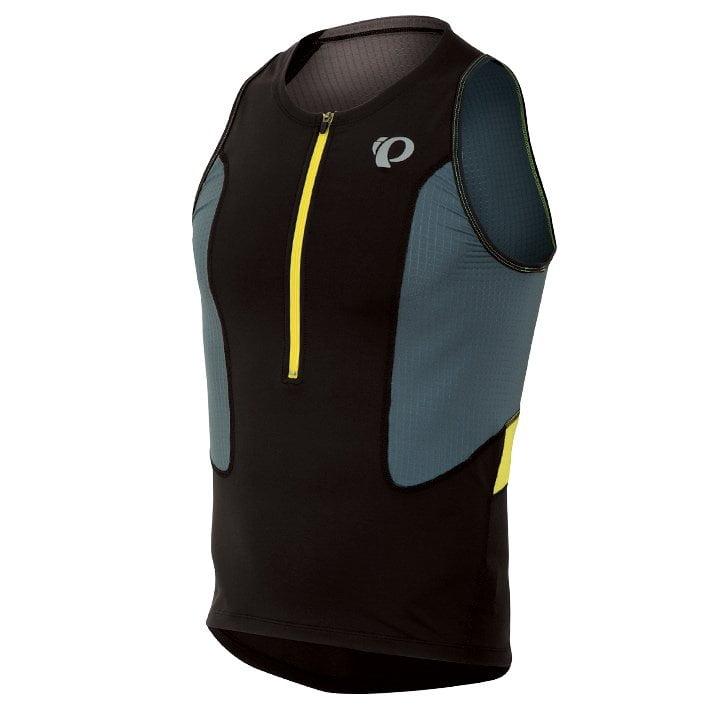 PEARL IZUMI Select schwarz-gelb Tri Top, für Herren, Größe S, Triathlon Top, Tri