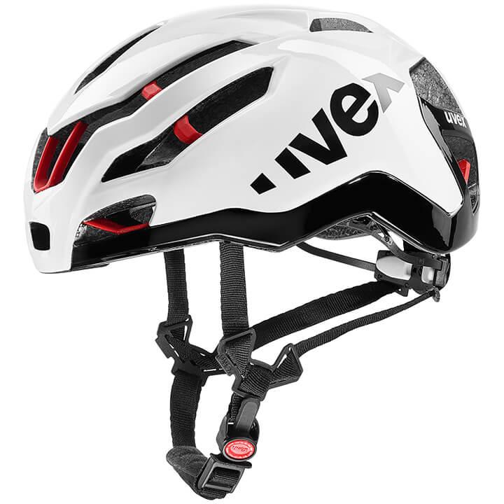UVEX Race 9 Casco, Unisex (mujer / hombre), Talla M, Accesorios ciclismo