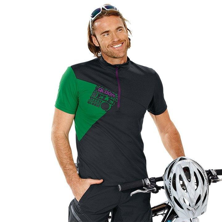 QLOOM Creek Bikeshirt, für Herren, Größe S, Fahrradtrikot, Radbekleidung