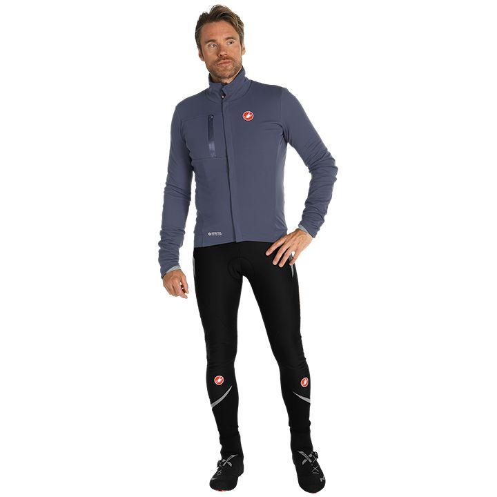 Set (chaqueta de invierno + culotte largo de ciclismo) CASTELLI Double Espresso