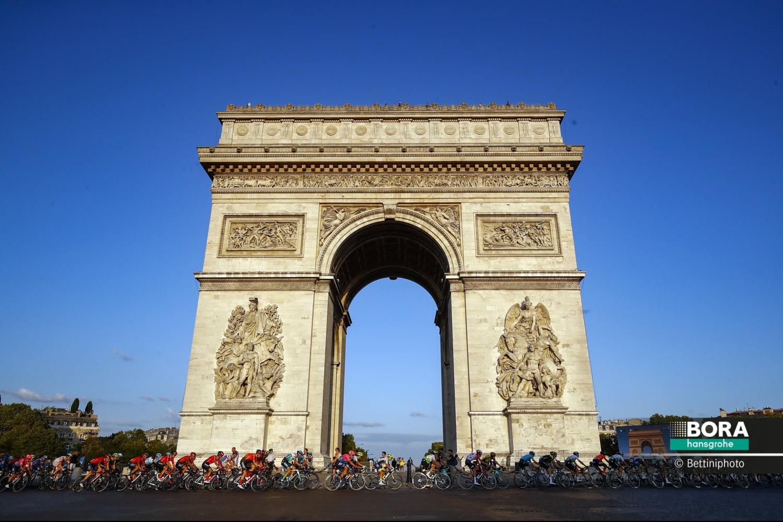Arc de Triomphe Frankreich Tour de France 2021